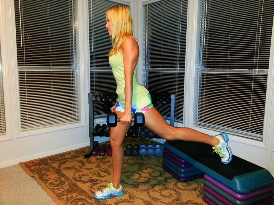 Ex Demo- Lunge Back Foot Elevated 1